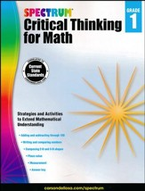 Spectrum Critical Thinking for Math, Grade 1