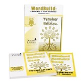 WordBuild ®: A Better Way To Teach Vocabulary  Foundations 1 Combo Pack