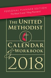 The United Methodist Calendar & Workbook 2018 Personal Planner Edition