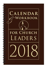 Calendar & Workbook for Church - Leaders 2018