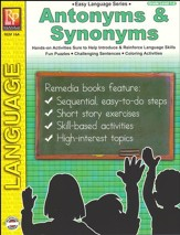 Easy Language Series: Antonyms & Synonyms, Grades 1-2