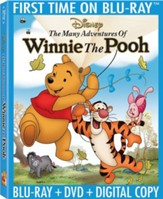 The Many Adventures of Winnie the Pooh, Blu-ray/DVD/Digital Copy