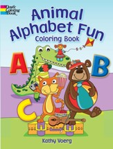 Animal Alphabet Fun Coloring Book