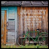 Journey Canvas Box Plaque, Jeremiah 29:11