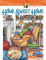 Home Sweet Home Coloring Book