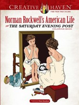 Norman Rockwell's American Life from The Saturday Evening Post Coloring Book
