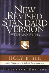 NRSV Text Edition Bible, Softcover - Slightly Imperfect