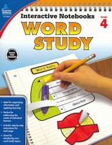 Interactive Notebooks: Word Study, Grade 4