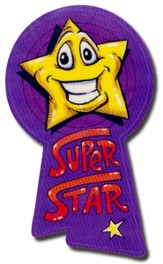 Award Ribbons: Super Star