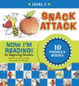 Now I'm Reading! Level 2: Snack Attack - eBook