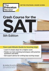 Crash Course for the SAT, 5th  Edition - eBook