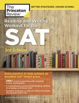 Reading & Writing Workout for the SAT, 3rd Edition - eBook