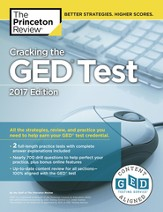 Cracking the GED Test with 2 Practice Tests, 2017 Edition - eBook