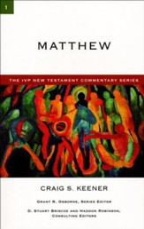 Matthew: IVP New Testament Commentary [IVPNTC]