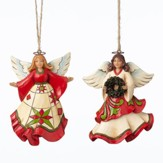 Joyful Angel Christmas Ornaments