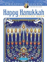 Creative Haven Happy Hanukkah Coloring Book