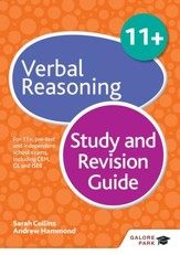 11+ Verbal Reasoning Study and Revision Guide: For 11+, pre-test and independent school exams including CEM, GL and ISEB / Digital original - eBook