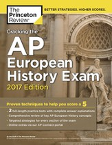 Cracking the AP European History Exam, 2017 Edition - eBook
