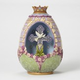 Easter Peace be With You Victorian Egg