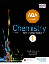 AQA A Level Chemistry Student Book 1  / Digital original - eBook
