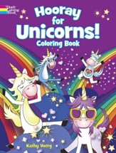 Hooray for Unicorns! Coloring Book