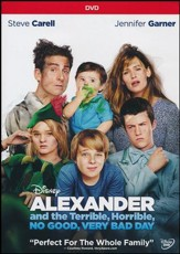 Alexander And The Terrible, No Good, Very Bad Day DVD