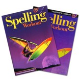 Modern Curriculum Press Spelling  Workout Grade 8 Homeschool Bundle (2002 Edition)