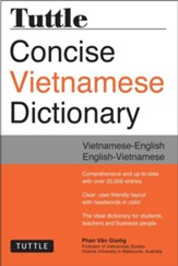 Tuttle Concise Vietnamese  Dictionary: Vietnamese-English English-Vietnamese