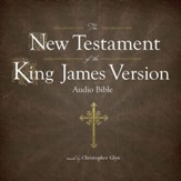 The KJV New Testament on MP-3 CD