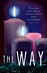 The Way Advent Candle Sunday #2 Bulletins, 50 (Isaiah 40:4, CEB)