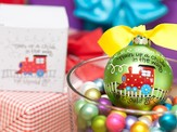 Train Up a Child Ornament to Personalize, Gift Boxed