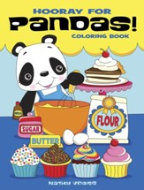 Hooray for Pandas! Coloring Book