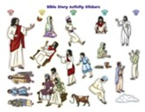 Rolling River Rampage: Bible Story Activity Stickers (Pkg of 6)