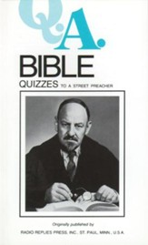 Bible Quizzes: To a Street Preacher - eBook