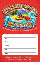Rolling River Rampage: Large Promotional Poster