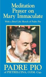 Meditation Prayer on Mary Immaculate - eBook