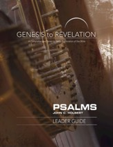 Psalms, Leader Guide (Genesis to Revelation Series)
