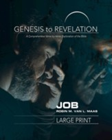 Job Participant Book, Large Print (Genesis to Revelation Series)