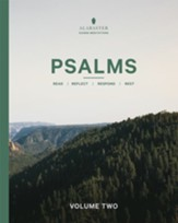 Psalms, Volume 2: With Guided Meditations