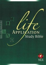 NLT Life Application Study Bible - Updated Edition Hardcover - Slightly Imperfect