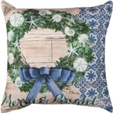 Coastal Holiday Pillow