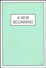A New Beginning Raindrops - pamphlet - pack of 10