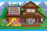 Rolling River Rampage: Decorating Mural