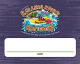 Rolling River Rampage: Nametag Cards (Pkg of 24)