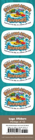 Rolling River Rampage: Logo Stickers (Pkg of 24)