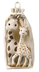 Sophie the Giraffe, Toy and Plush Gift Set