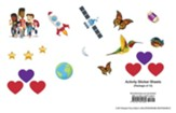 24/7 VBS: Activity Sticker Sheets, pkg of 12