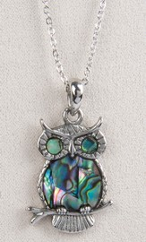 Owl, Wild Pearle Necklace