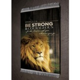 Be Strong & Courageous, Joshua 1:9 Carpet Coaster