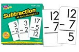 Subtraction Flash Cards (All Facts  Through 12)
